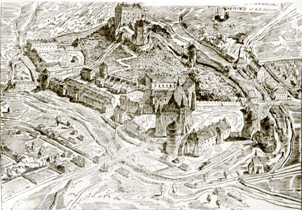The Castles about 1530 year