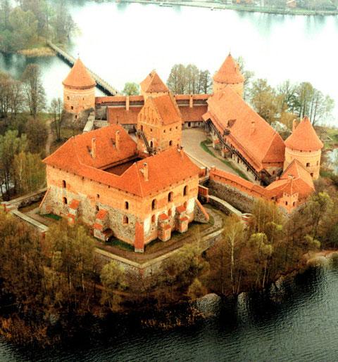 Trakai Island Castle Images Trakai island castle at